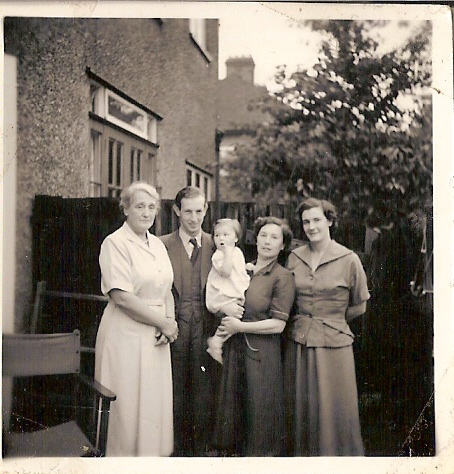 Nanny, my father, me, Granny and my mother.jpg